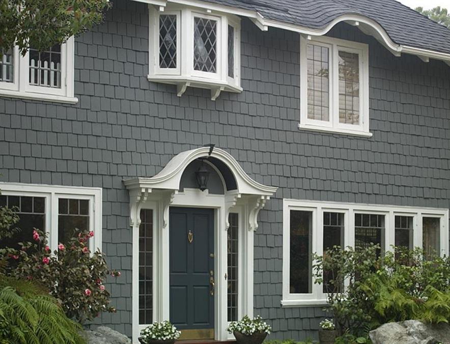 Villa m stakil ev d cephe renk rnekleri ev kaplama - Small house exterior paint collection ...